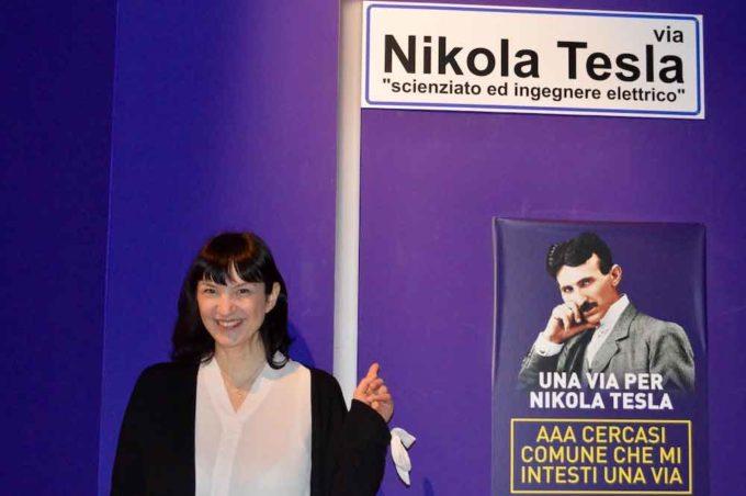 Intitolare una strada a Nikola Tesla