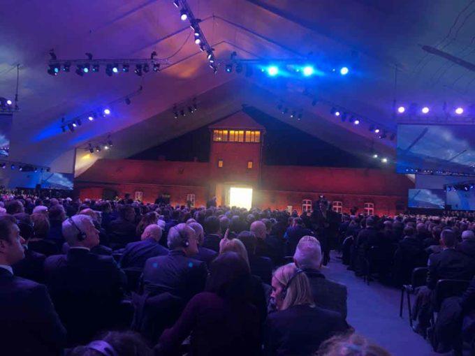 Cori alle celebrazioni per il 75° anniversario della liberazione del campo di sterminio di Auschwitz