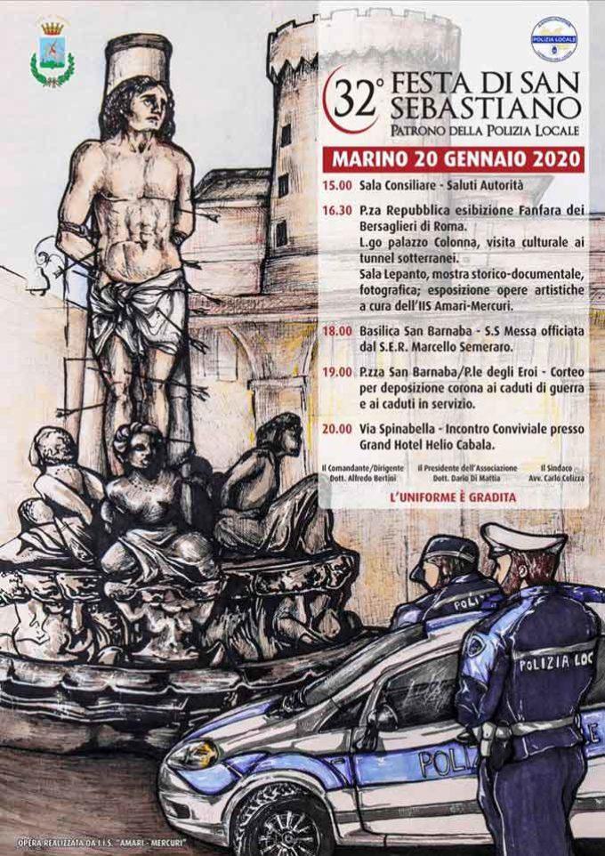 Polizie Locali del Lazio in festa a Marino