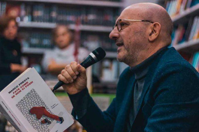 Gran pienone per Marco Presta alla Mondadori Bookstore Velletri