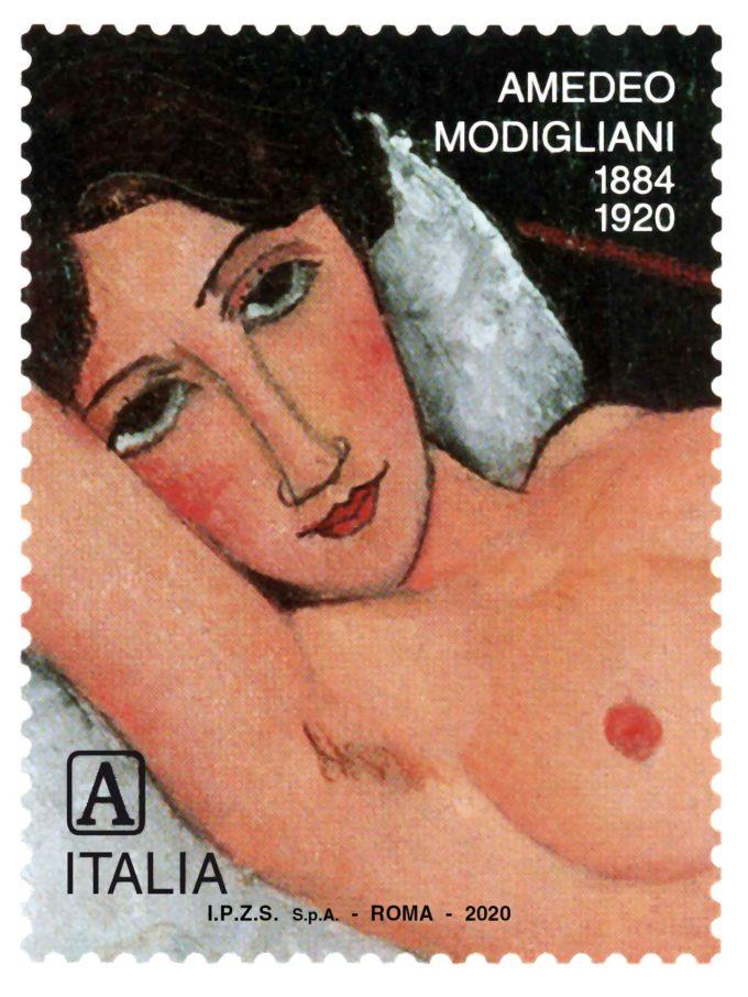 POSTE ITALIANE: Emissione francobollo Amedeo Modigliani