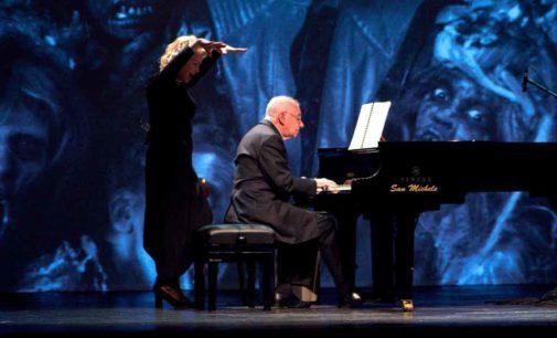 NOIR…    ….. LaPauraSiFaSentire, concerto-spettacolo di Antonio Ballista alla IUC