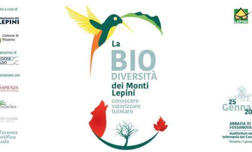 La Biodiversità dei monti Lepini
