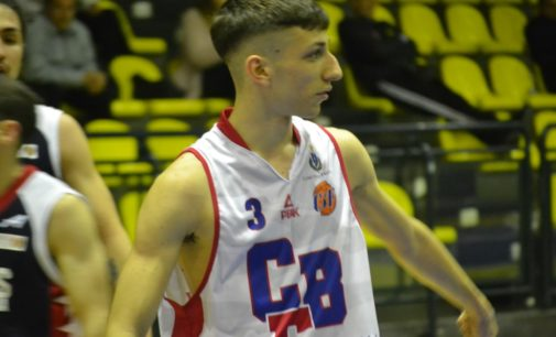 """Club Basket Frascati (C/m Gold), Cupellini: """"Bella vittoria con Alfa Omega, noi giovani cresciamo"""""""