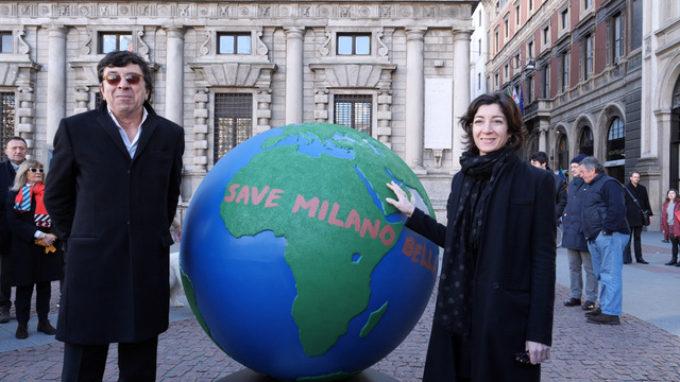 100 GLOBI PER UN FUTURO SOSTENIBILE 100 ARTISTI INTERPRETANO UN FUTURO SOSTENIBILE
