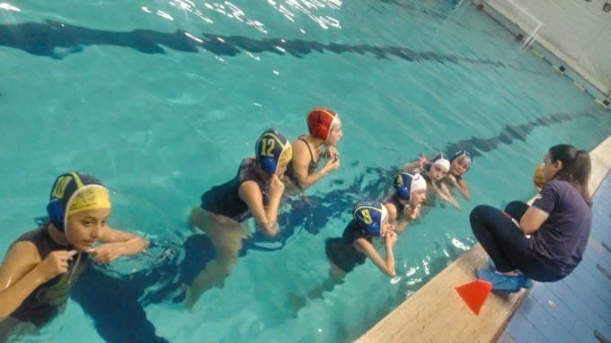 Under 13 femminile, una buona prova per l'F&D Waterpolis