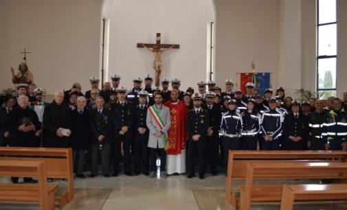 A Pomezia messa per San Sebastiano, patrono della Polizia locale