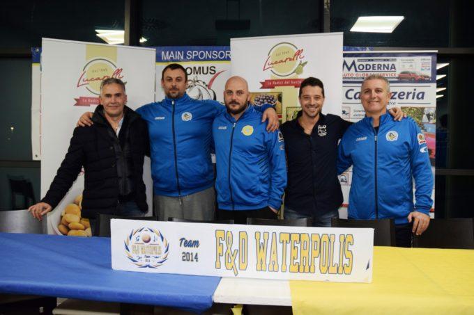"""Serie A2, F&D Waterpolis che riparte. Il presidente Perillo: """"Possiamo dire la nostra"""""""