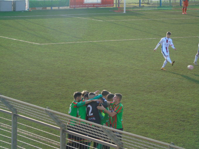 Academy Ladispoli – Vis Artena 1 – 2 con doppietta di Delgado