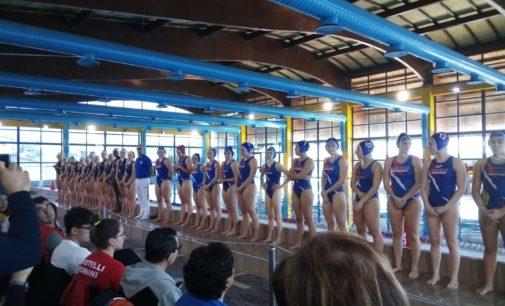 A2 femminile, per l'F&D Waterpolis un esordio da favola. Castelli Romani battuti 20-6