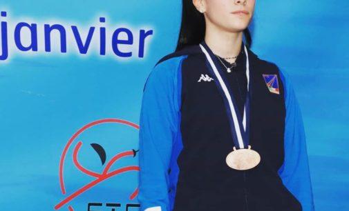 Alessia Piccoli (Lazio Scherma) Bronzo a Tunisi nei Campionati del Mediterraneo 2020