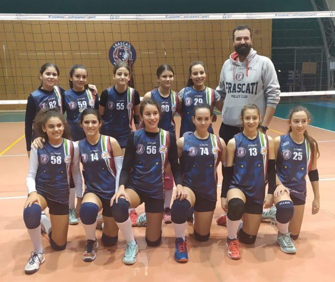 """Volley Club Frascati, due gruppi Under 13 ai quarti. De Gregorio: """"Crescita notevole delle ragazze"""""""