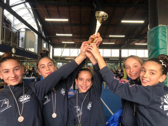 Asd Judo Frascati (ginn. artistica), Allieve terze e Junior-Senior settime nella prima prova Silver