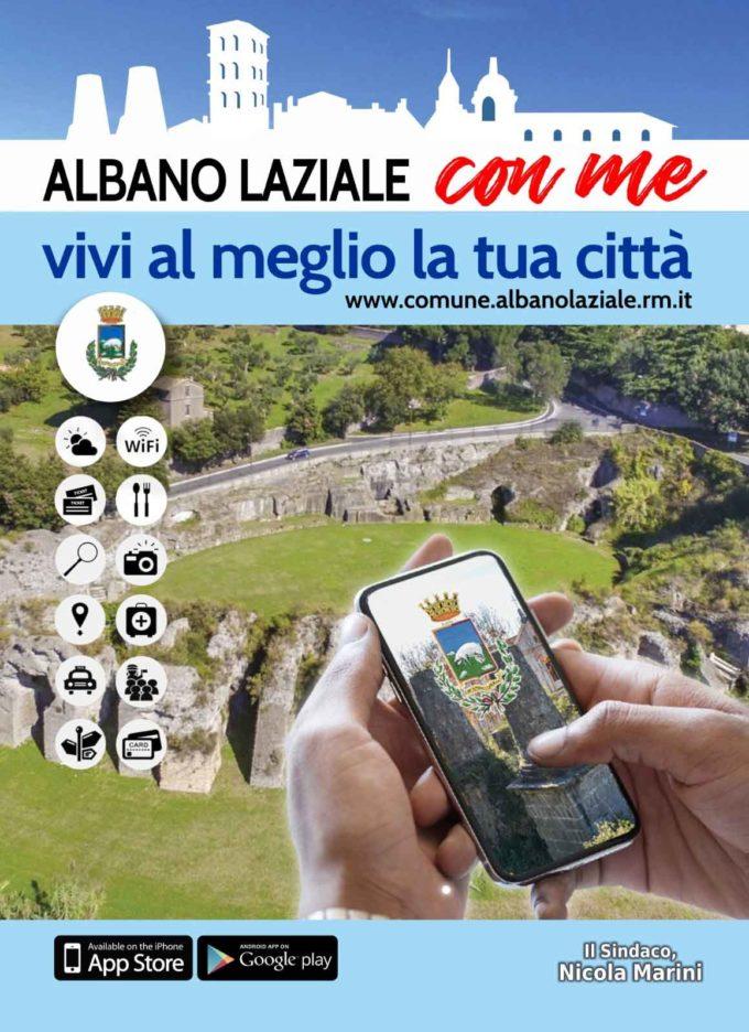 Nasce l'App per smartphone e tablet «Comune di Albano Laziale»