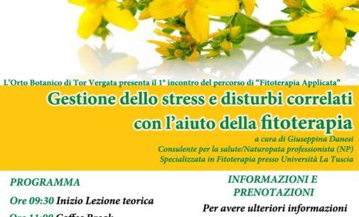 Da marzo incontri sulla fitoterapia all'Orto Botanico di Tor Vergata
