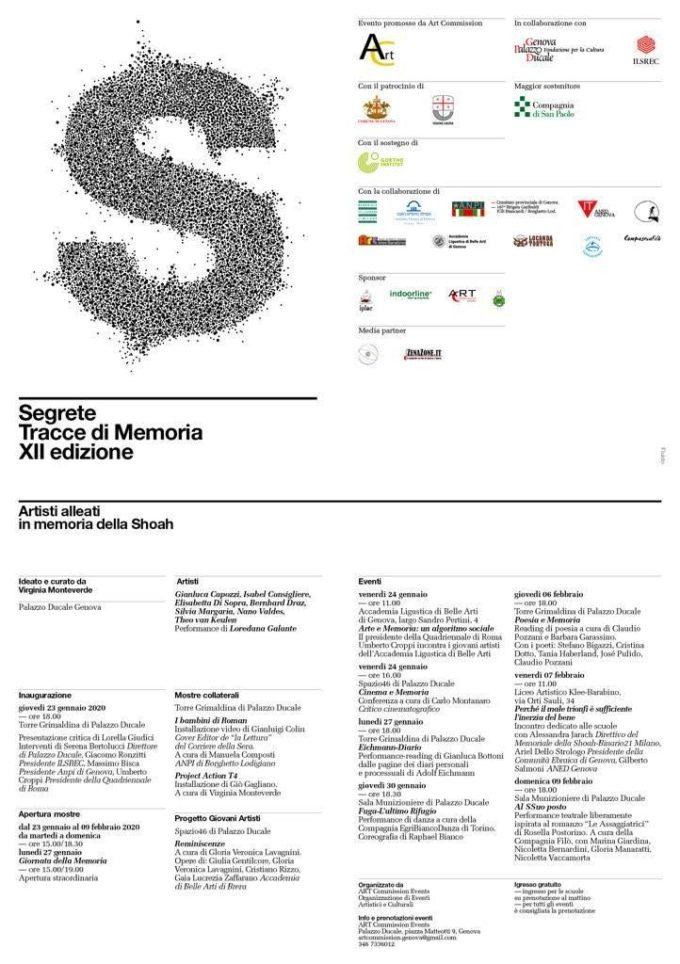 Giornate della Memoria a Genova: Segrete