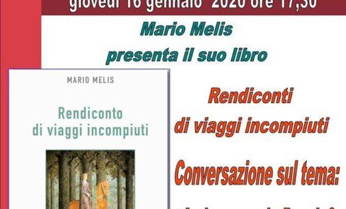 """In biblioteca a Zagarolo """"Rendiconti di viaggi incompiuti"""", la poesia di Melis"""