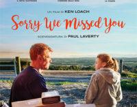 È tornato nei cinema K. Loach: lavoro e affetti nell'epoca del sordo profitto