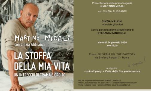"""""""La stoffa della mia vita"""", biografia di Martino Midali"""