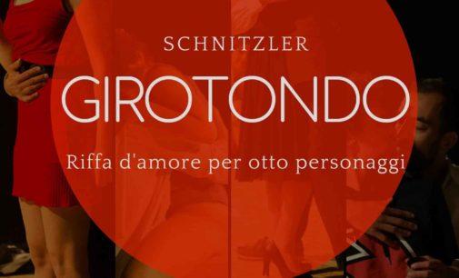 """Teatro Trastevere – """"Girotondo -riffa d'amore per otto personaggi"""""""