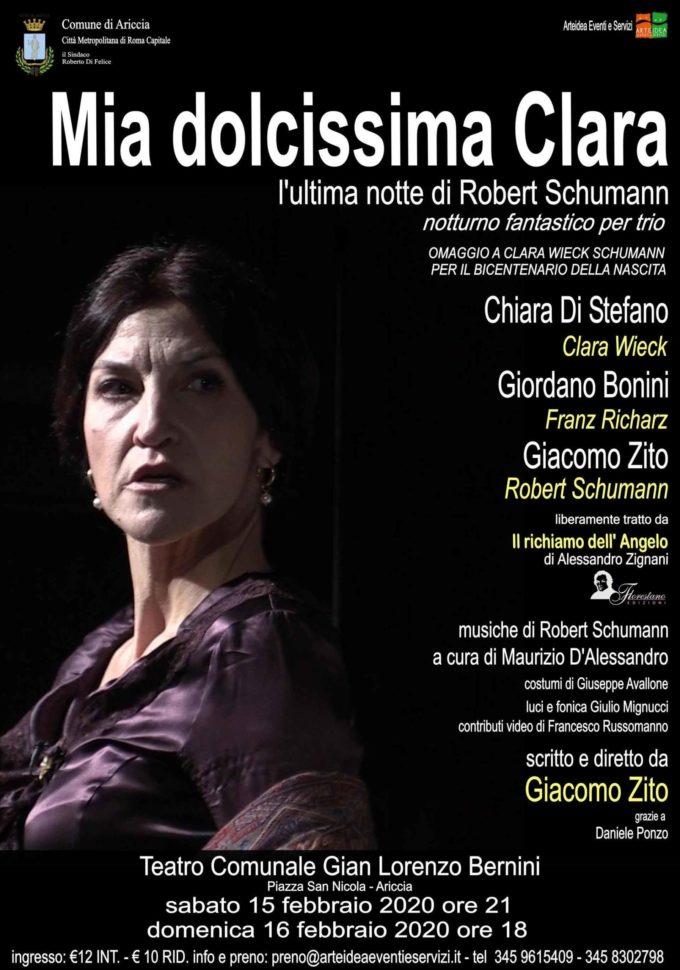 Teatro Bernini – MIA DOLCISSIMA CLARA