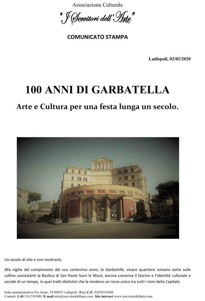 100 ANNI DI GARBATELLA