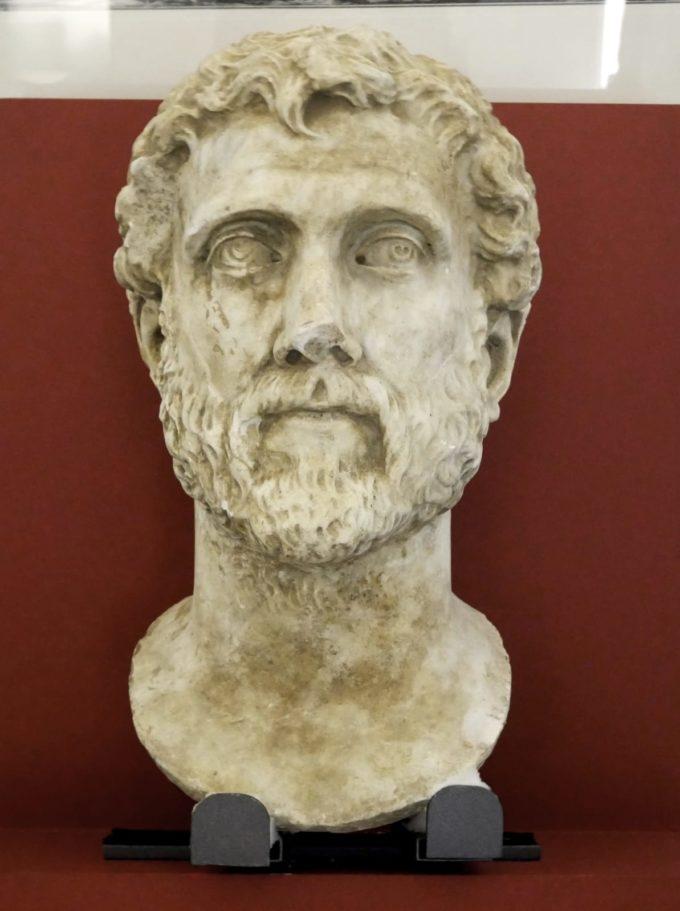 Città di Zagarolo – Dopo 27 anni recuperata la testa di Marco Aurelio