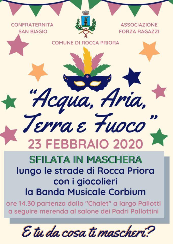 Carnevale a Rocca Priora