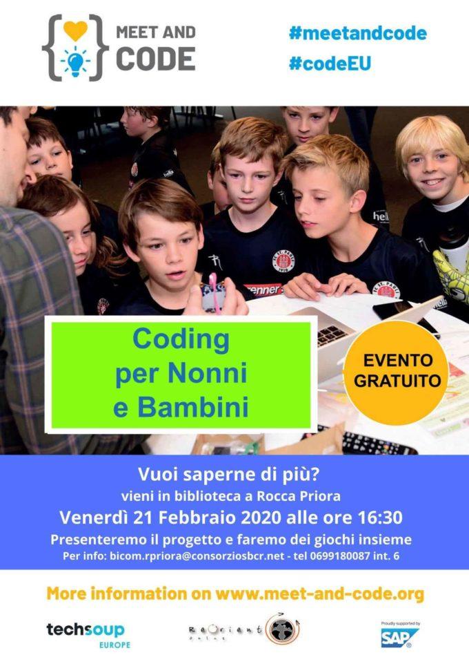 A Rocca Priora nonni e nipoti  giocano con il coding