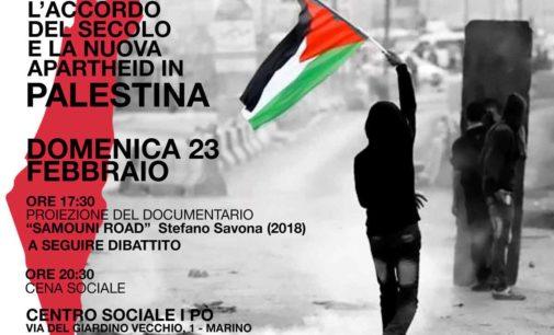 Domenica 23, cinema e incontro sulla Palestina a Marino