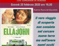 """Zagarolo  Palazzo Rospigliosi – """"Ella&John"""""""