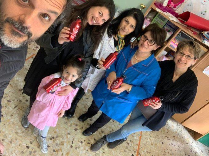 Le scuole di Albano diventano plastic free