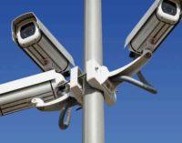 Lavori di ripristino e potenziamento del sistema di videosorveglianza urbana a Valle Martella