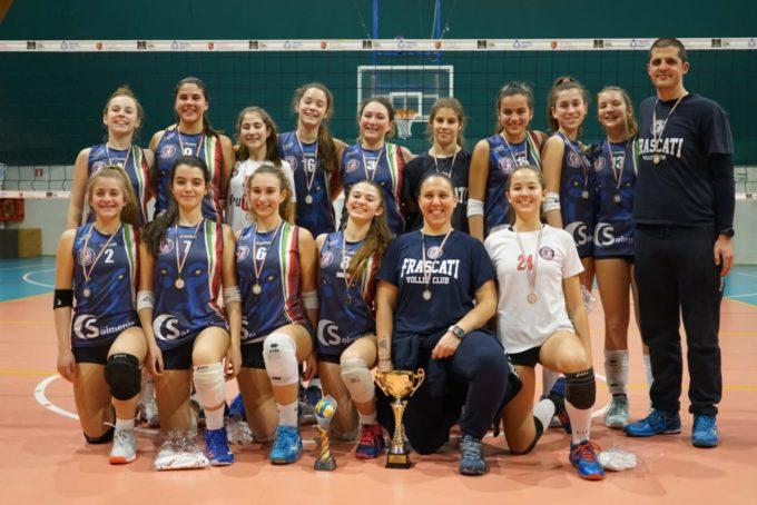 """Volley Club Frascati, Under 14 campionessa territoriale. Musetti: """"Ora il tabellone Eccellenza"""""""