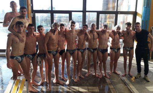 Pallanuoto, under 20 maschile: nel big match trionfo F&D Waterpolis, girone di andata che si chiude al primo posto