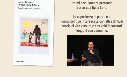 """Davide Faraone presenta a Ciampino """"Con gli occhi di Sara"""""""