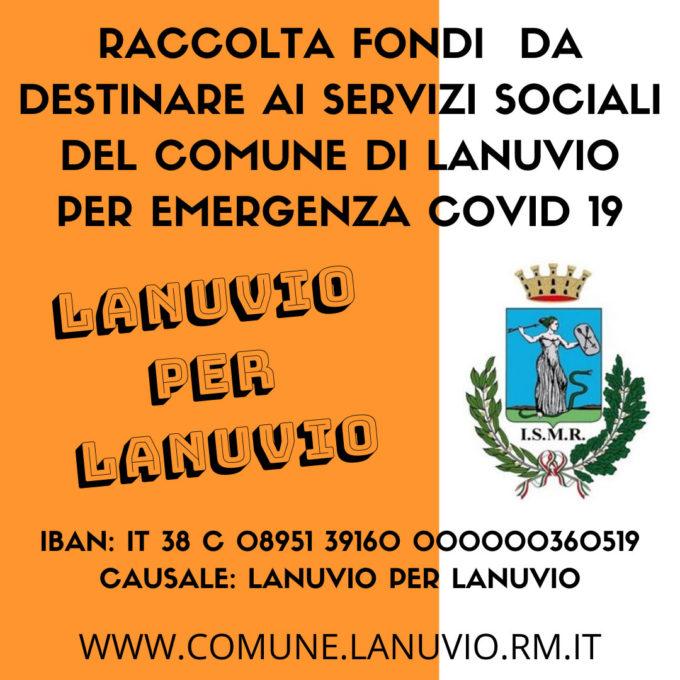 Covid 19, al via Lanuvio per Lanuvio