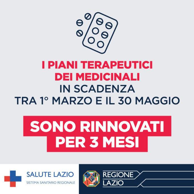 Marino – Notizie utili da SALUTE LAZIO:  RICETTE DEMATERIALIZZATE E RINNOVO PIANI TERAPEUTICI