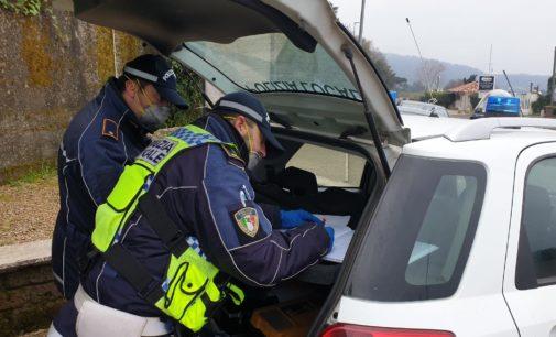 Coronavirus. Polizie Locali del Lazio in azione