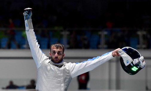 """Frascati Scherma, Garozzo: """"Olimpiadi? In questo momento la priorità è la salute pubblica"""""""