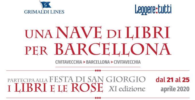 Torna UNA NAVE DI LIBRI PER BARCELLONA: dal 21 al 25 aprile l'undicesima edizione