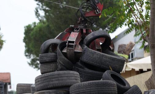 Nel Lazio il riciclo dei Pneumatici Fuori Uso non si ferma