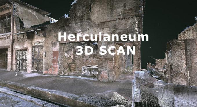 """""""Herculaneum 3D SCAN"""":  Accelera la rivoluzione digitale di tutte le attività del Parco"""