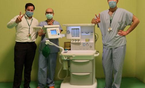 """Progetto """"Respiro con te"""" macchinari respiratori urgenti e disponibili per Ospedale Humanitas Rozzano"""