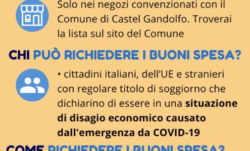 COVID-19: Buoni spesa a Castel Gandolfo, come richiederli