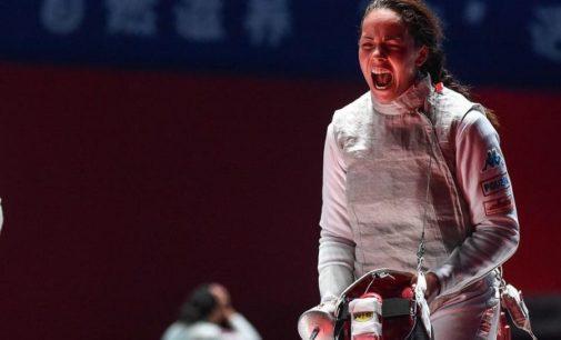 """Frascati Scherma, Alice Volpi: """"Rinvio dell'Olimpiade inevitabile, per me non cambia molto"""""""