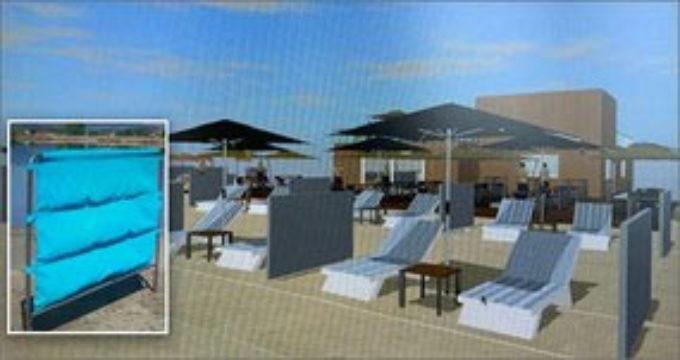 Coronavirus: da un brevetto ENEA distanziatori ecosostenibili per la spiaggia