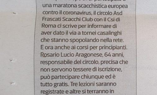 1° Gran Torneo Scacchi on-line