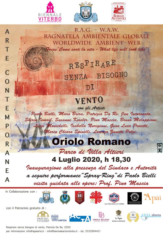 Arte Contemporanea nel Borgo Autentico di Oriolo Romano