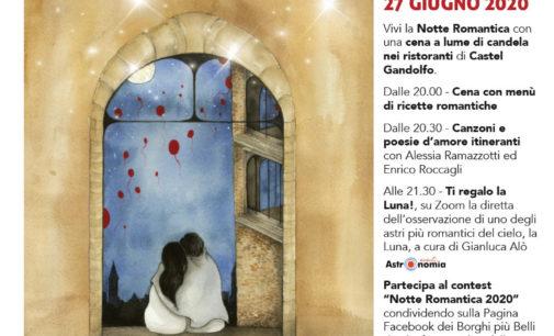 Castel Gandolfo – Il 27 giugno è la Notte Romantica